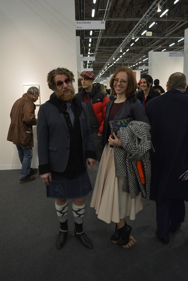 At the Armory Show Vernissage