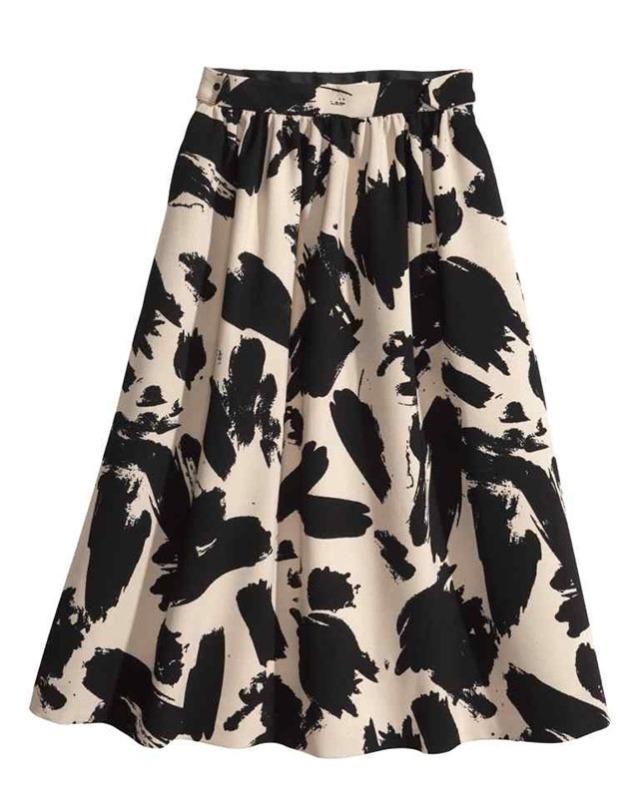 HM Printed Skirt