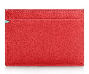 Tiffany & Co. Stitch Card Case in grain leather via youmademelikeyou.com