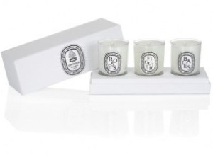 Diptyque Set of Mini Candles  via youmademelikeyou.com