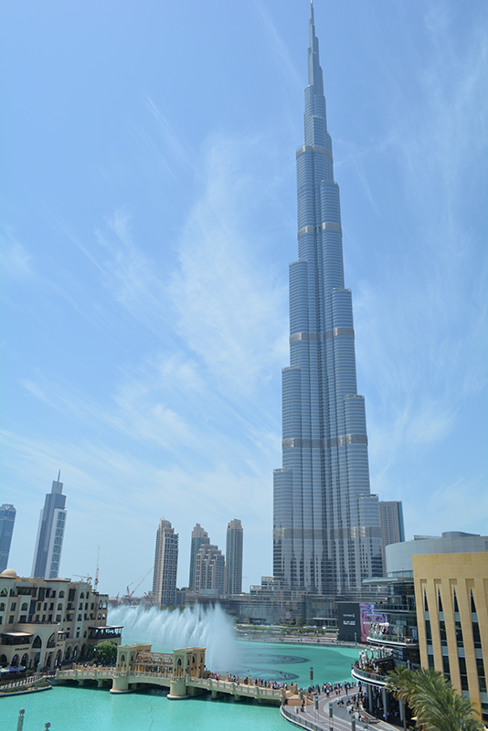 Burj Khalifa Dubai via youmademelikeyou.com