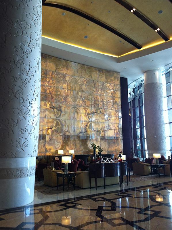 The Conrad Hotel Dubai via youmademelikeyou.com