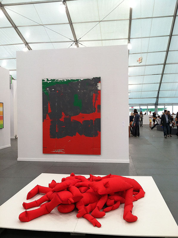 Frieze Art Fair New York via youmademelikeyou.com