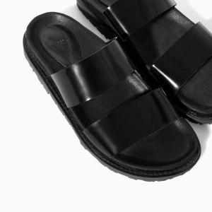 Zara sandals with straps - Birkenstock inspiration via youmademelikeyou.com