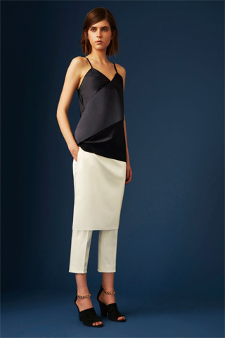 Skirt over pants at 3.1 Phillip Lim via youmademelikeyou.com