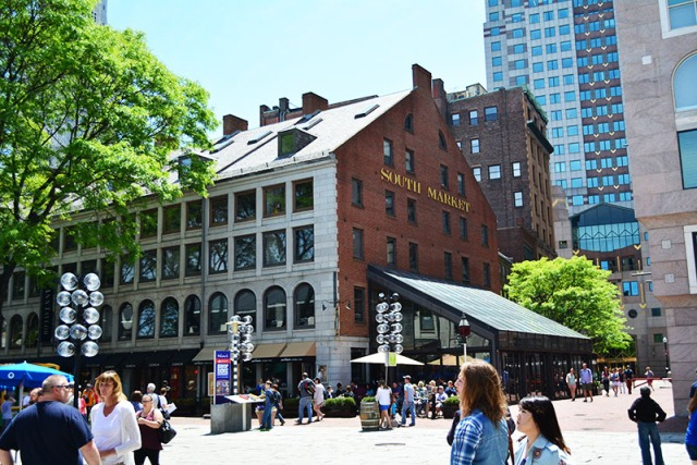 Faneuil Hall Marketplace Boston via youmademelikeyou.com