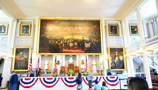 Faneuil Hall Boston via youmademelikeyou.com