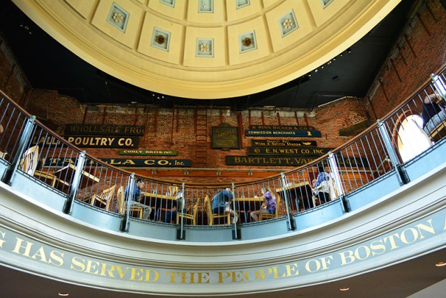 Quincy Market Boston via youmademelikeyou.com