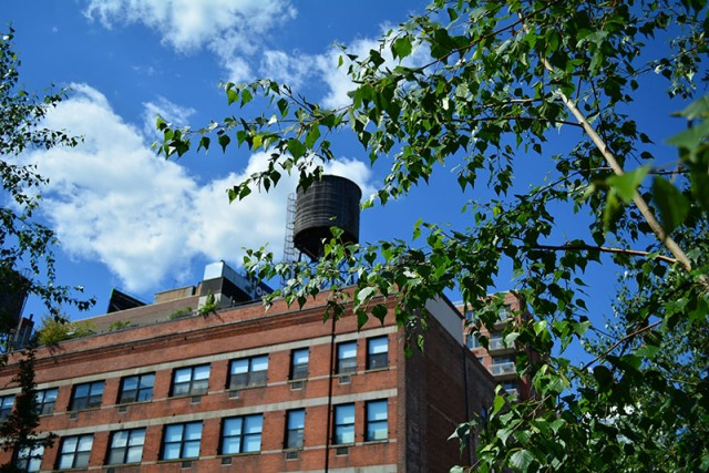 Water tower on the highline nyc via youmademelikeyou.com
