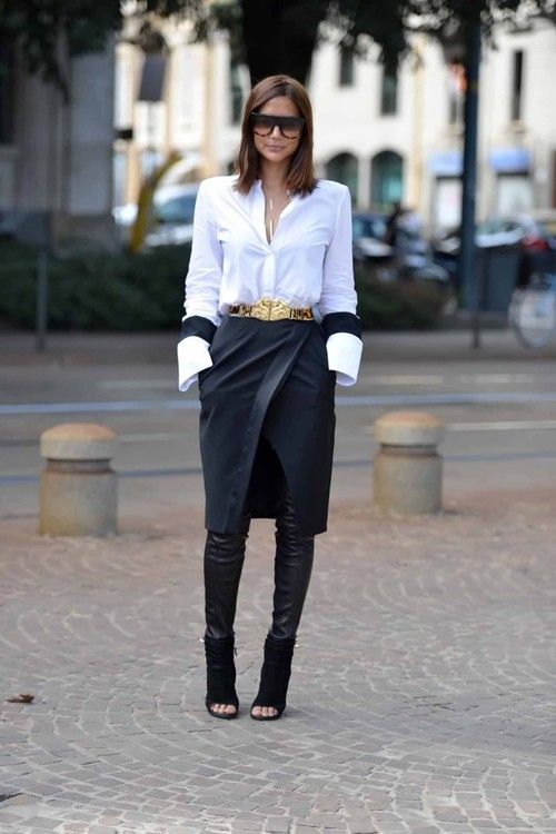 Dress/Skirt over pants via youmademelikeyou.com