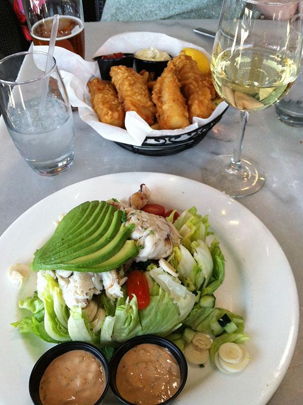 California Dreaming, Los Angeles, Santa Monica Seafood Cafe,  via youmademelikeyou.com