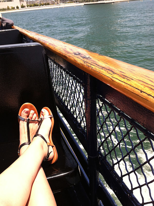 Ferry to Coronado Beach, San Diego via youmademelikeyou.com