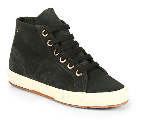 The Row for Superga Corduroy High-Top Sneakers