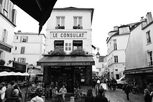 Le Consulat Montmartre Paris France via youmademelikeyou.com