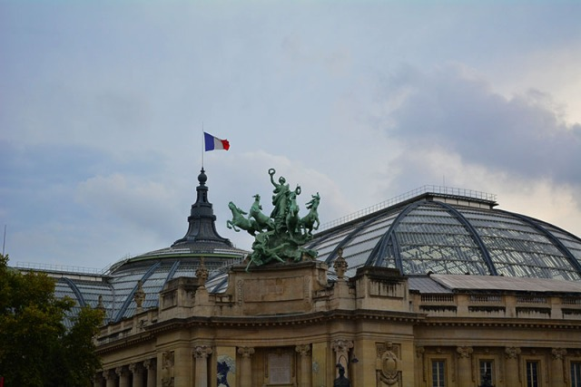Grand Palais, Paris, France via youmademelikeyou.com