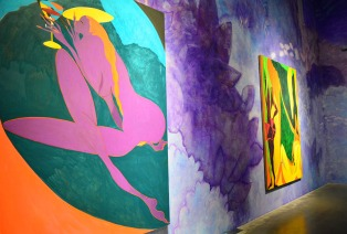 Chris Ofili: Night and Day at The New Museum, New York via youmademelikeyou.com