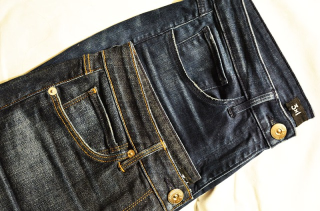 3 x 1 denim, made in New York via youmademelikeyou.com