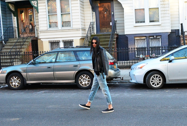 Spring - Moto Jacket and Boyfriend Jeans via youmademelikeyou.com