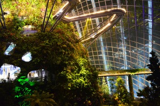 Cloud Forest at Gardens by the Bay Singapore via youmademelikeyou.com