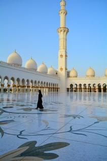 Abu Dhabi UAE Mosque via youmademellikeyou.com