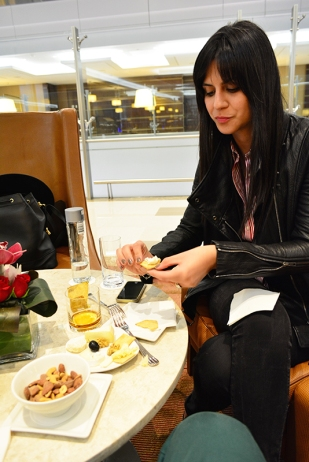 Emirates first class lounge Dubai via youmademelikeyou.com