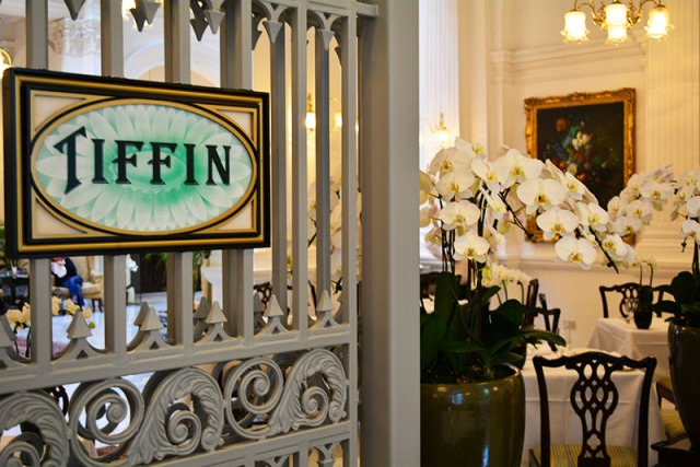 Tiffin Room at the Raffles Hotel Singapore via youmademelikeyou.com