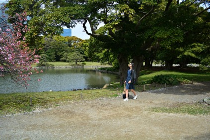 Hamarikyu Gardens, Tokyo, Japan via youmademelikeyou.com