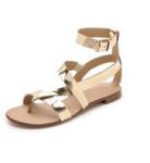 Splendid Crete Flat Sandals Gold