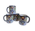 One King's Lane Talavera Coffee Mugs