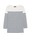J.Crew Striped Cotton Jersey  Top