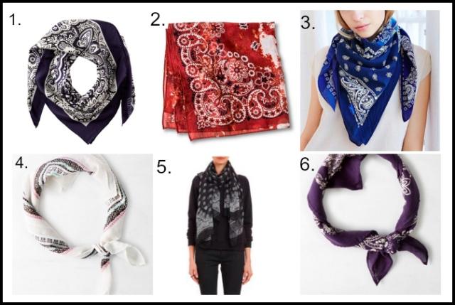 Bandanas to shop via youmademelikeyou.com