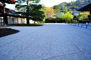 zen garden Kyoto, Japan via youmademelikeyou.com