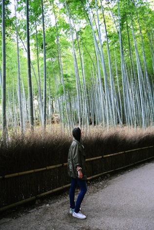Arashiyama Bamboo forest Kyoto, Japan via youmademelikeyou.com