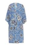Sea Tile Paisley silk kimono