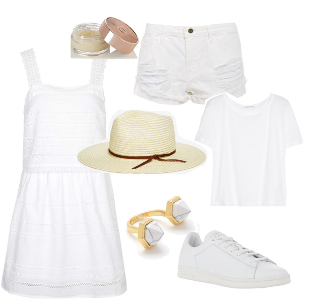 Summer Whites shopping inspiration via youmademelikeyou.com