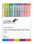 Yoobi 12pk Gel Pens - Multicolor